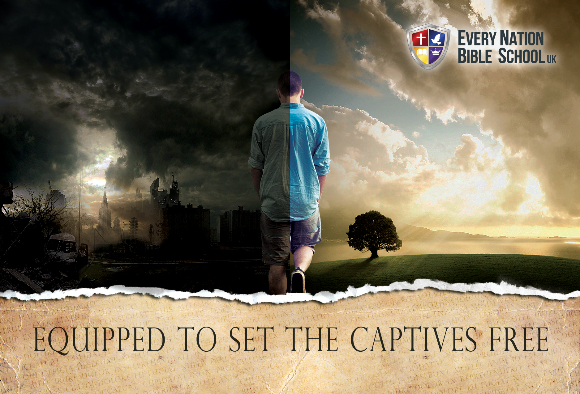 Equipped to Set the Captives Free
