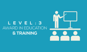Education And Training Level 3 Award